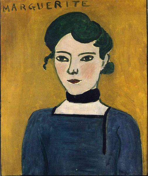 Marguerite, 1907 - Henri Matisse