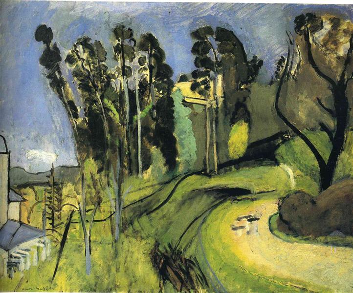 Montalban, Landscape, 1918 - Анри Матисс