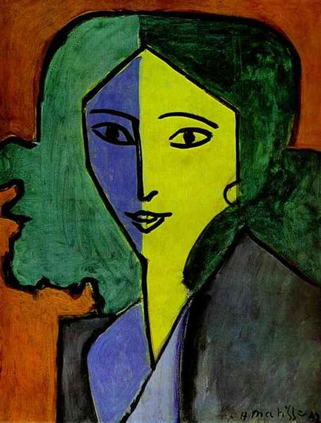 Portrait of Lydia Delectorskaya, 1947 - Анри Матисс
