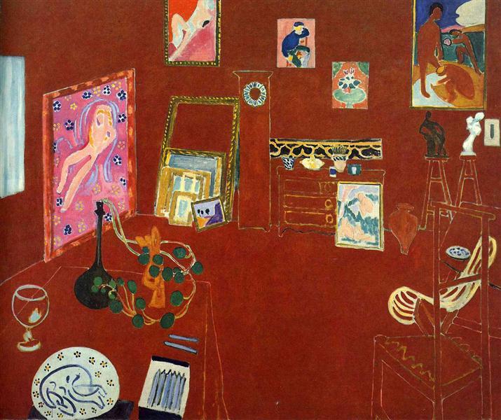 Red Studio, 1911 - Henri Matisse