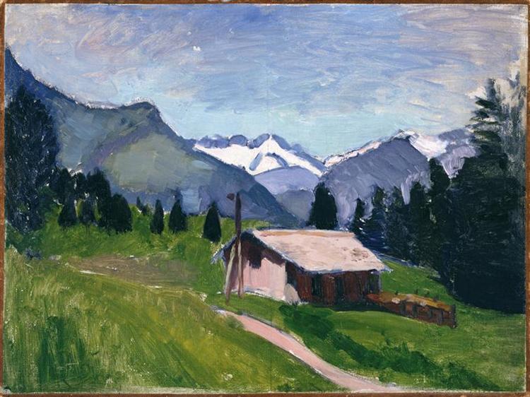 Savoy Alps, 1901 - Henri Matisse