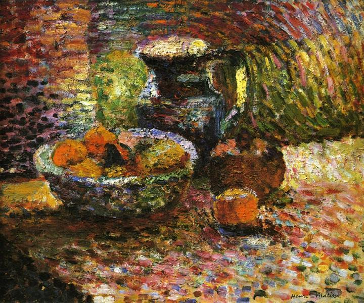 Still Life with Pitcher and Fruit, c.1898 - Henri Matisse