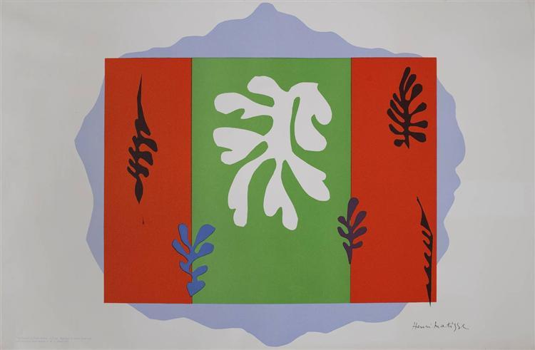 The Dancer, 1949 - Henri Matisse