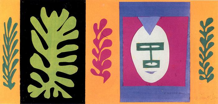The Eschimo, 1947 - Henri Matisse