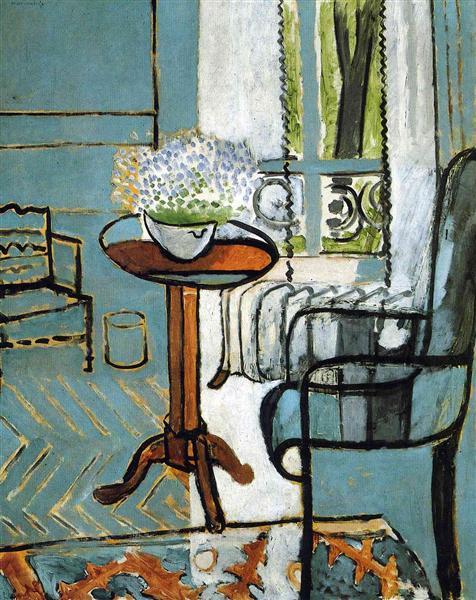 The Window, 1916 - Анри Матисс