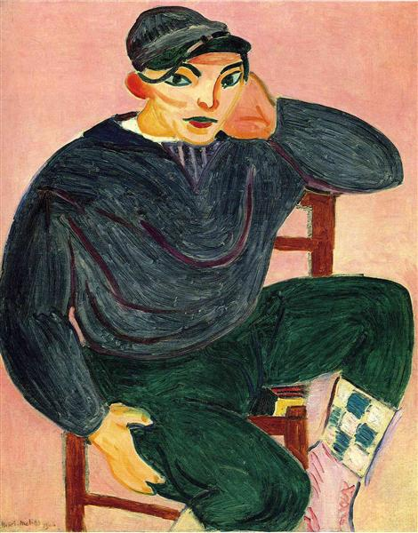 The Young Sailor II, 1906 - Henri Matisse