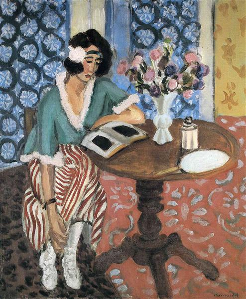 Woman Reading, 1921 - Henri Matisse
