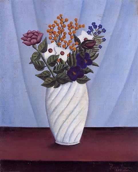 Bouquet of Flowers, 1909 - Henri Rousseau