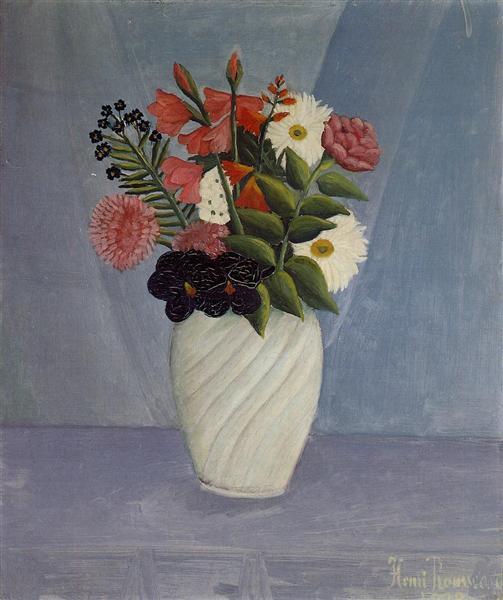 Bouquet of Flowers, 1910 - Henri Rousseau