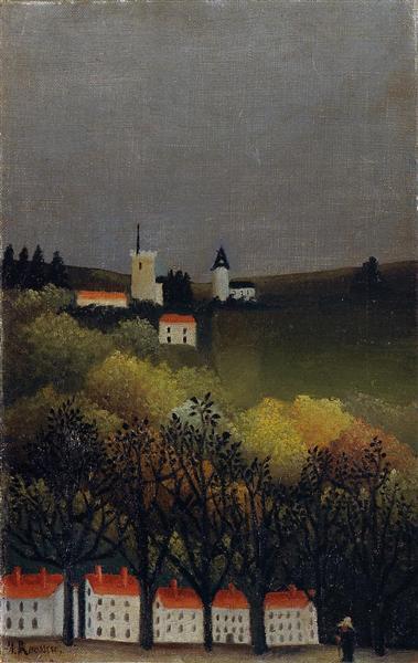 Landscape, 1885 - 1886 - Henri Rousseau
