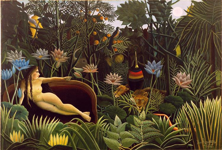 The Dream, 1910 - Henri Rousseau