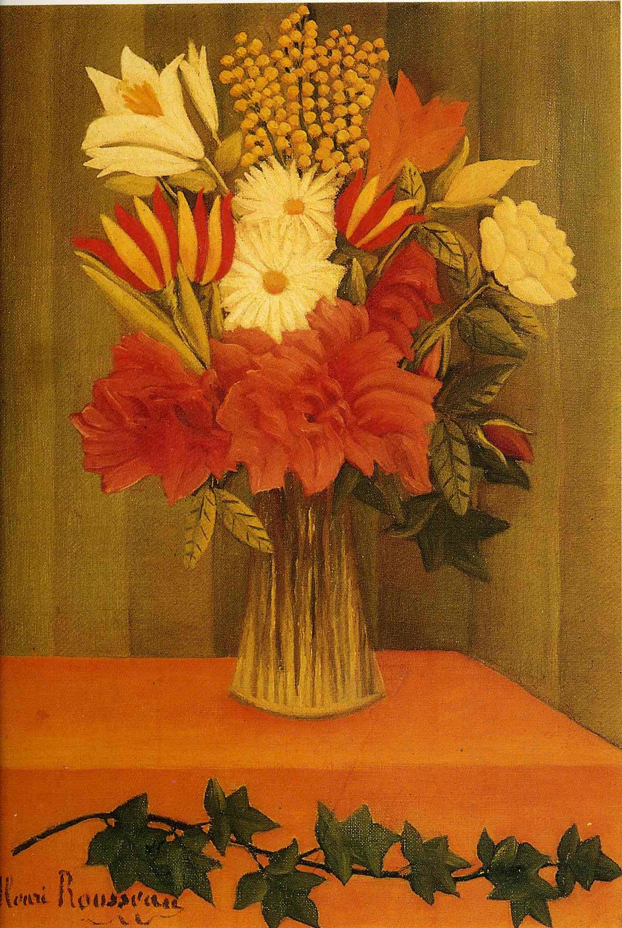 Vase of flowers 1901 1902 henri rousseau wikiart vase of flowers 1901 1902 henri rousseau reviewsmspy