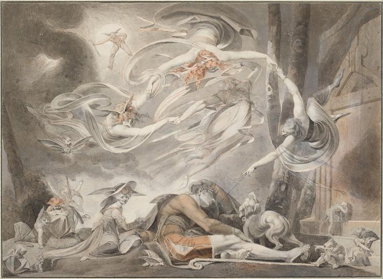 El sueño del pastor - Henry Fuseli