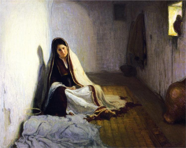 Mary, 1900 - Henry Ossawa Tanner