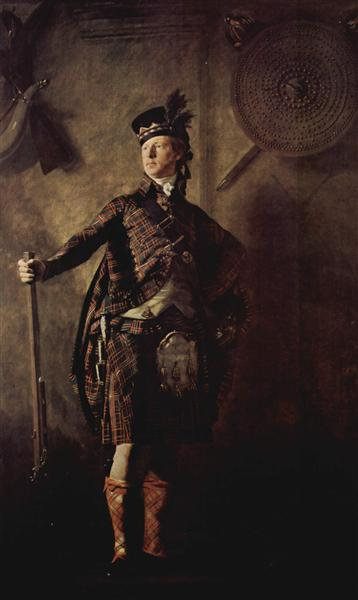 Portrait of Colonel Alasdair Mcdonnell of Glengarry, c.1812 - Henry Raeburn