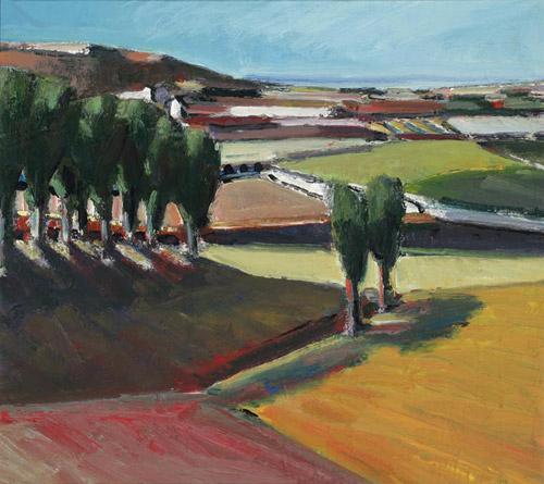 Landscape, 1956 - Henry Villierme