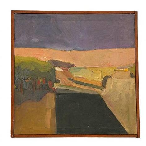 Landscape, 1957 - Генрі Віллерме