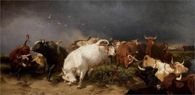 A Panic, 1872 - Henry William Banks Davis