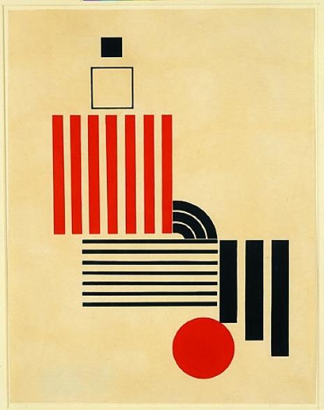 Mechano-Faktura Construction - Henryk Berlewi