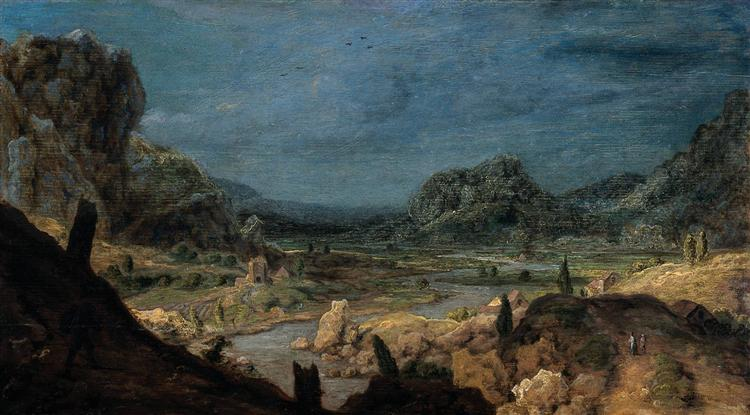 River valley, c.1626 - Hercules Seghers
