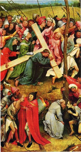 Christ Carrying the Cross, 1485 - 1490 - Hieronymus Bosch