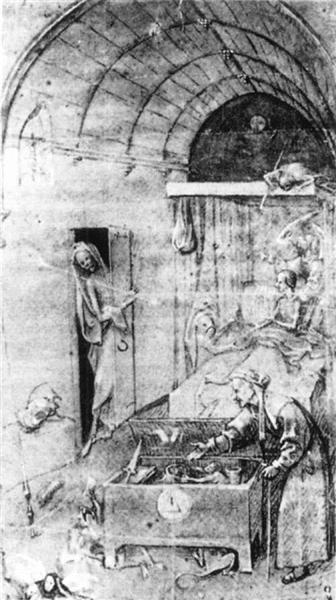 Death and the Miser - Hieronymus Bosch