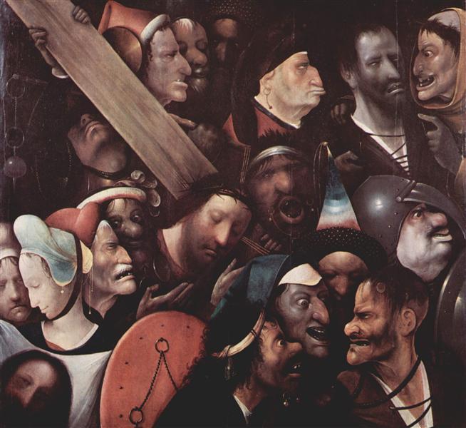 The Carrying of the Cross, 1480 - Hieronymus Bosch