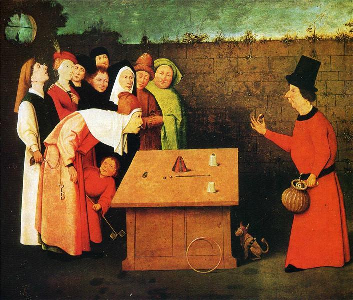 The Conjuror, 1475 - 1480 - Hieronymus Bosch