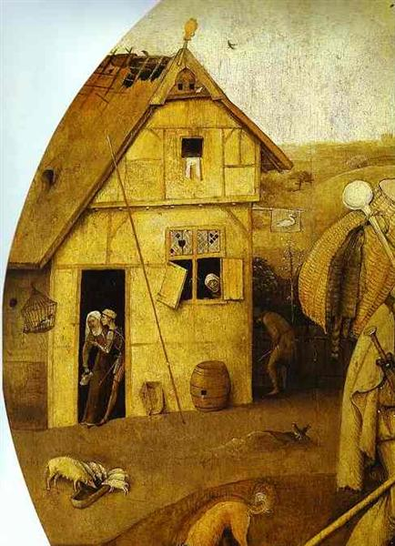 The House of Ill Fame, c.1494 - c.1516 - Jérôme Bosch