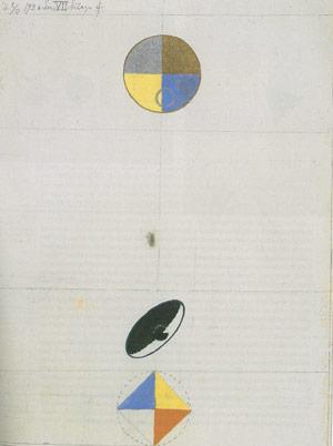 Series No. VII, No. 3f, 1920 - Hilma af Klint