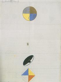 Series No. VII, No. 3f - Hilma af Klint