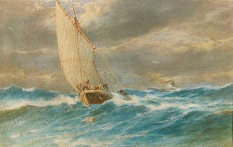 Turbulent Sea - Hoca Ali Riza