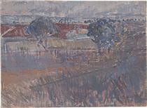 The ploughed field - Horace Trenerry