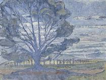 Willunga landscape - Horace Trenerry
