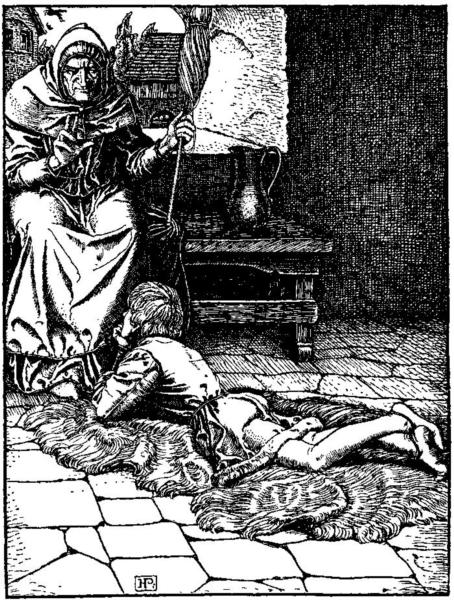 Otto of the Silver Hand  16 - Howard Pyle
