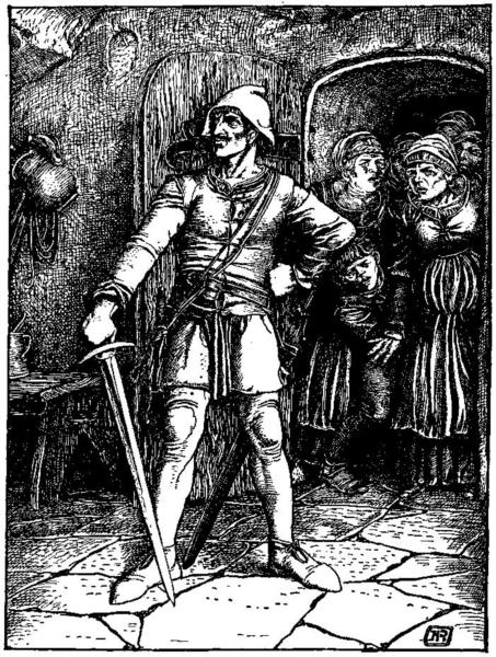 Otto of the Silver Hand 30 - Howard Pyle