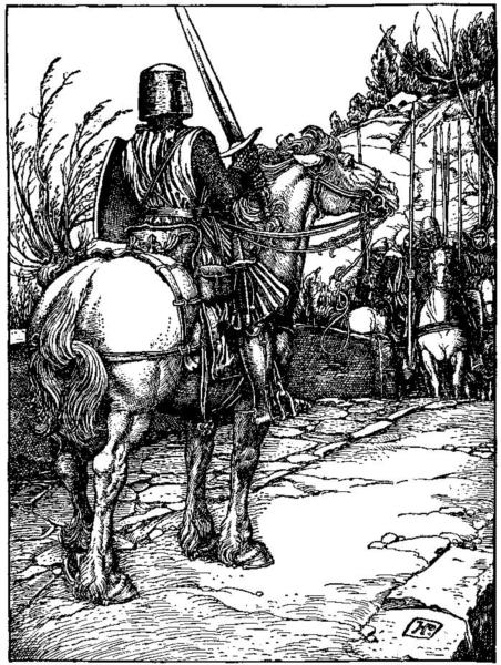 Otto of the Silver Hand 38 - Howard Pyle