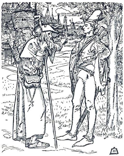 The Merry Adventures of Robin Hood 9 - Howard Pyle