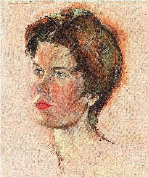 Self Portrait, 1959 - Hubertine Heijermans