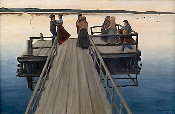 Winger Dance, 1903 - Hugo Simberg