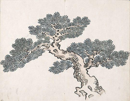 Untitled (a tree) - Ike no Taiga