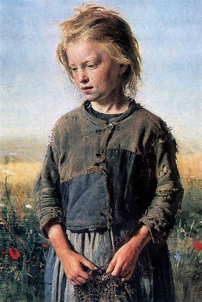 A Fisher Girl, 1874 - Ilya Repin