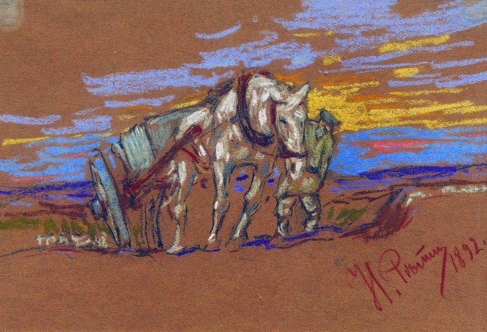 Carrying Horse, 1892