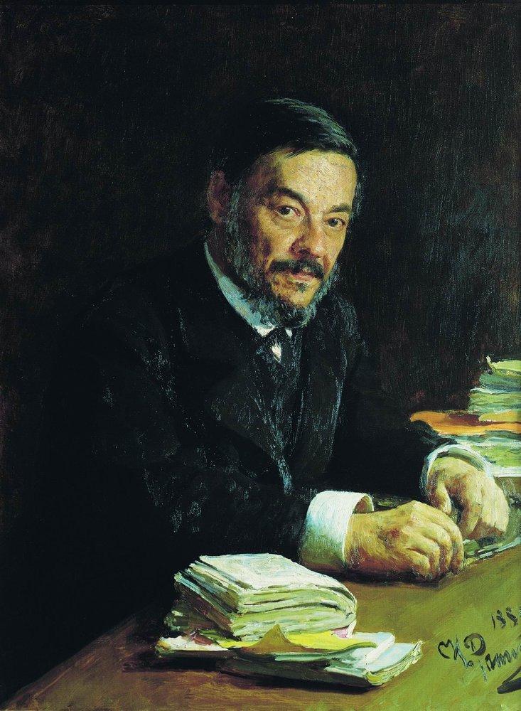 Portrait of Ivan Mikhaylovich Sechenov, Russian physiologist, 1889