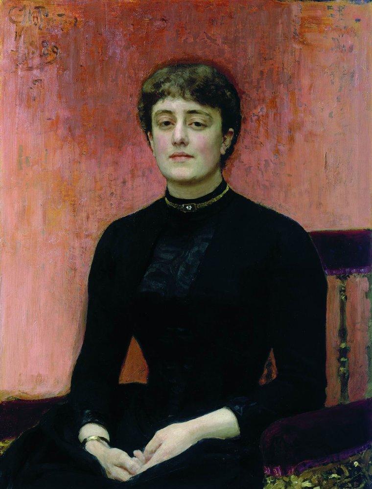 Portrait of Jelizaveta Zvantseva, 1889