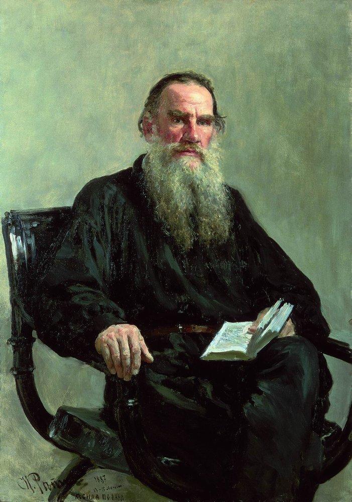 Portrait of Leo Tolstoy, 1887