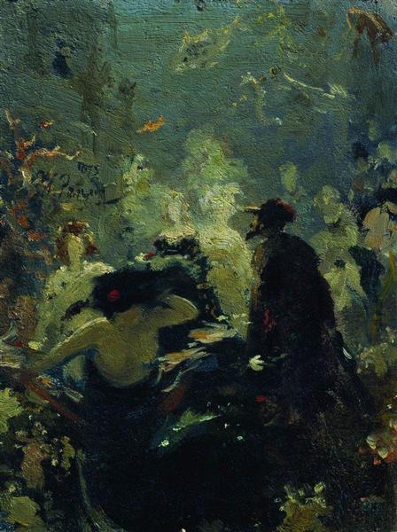Sadko in the Underwater Kingdom, 1875 - Ilya Repin ...