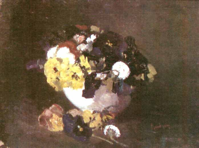 Pansies - Ion Andreescu