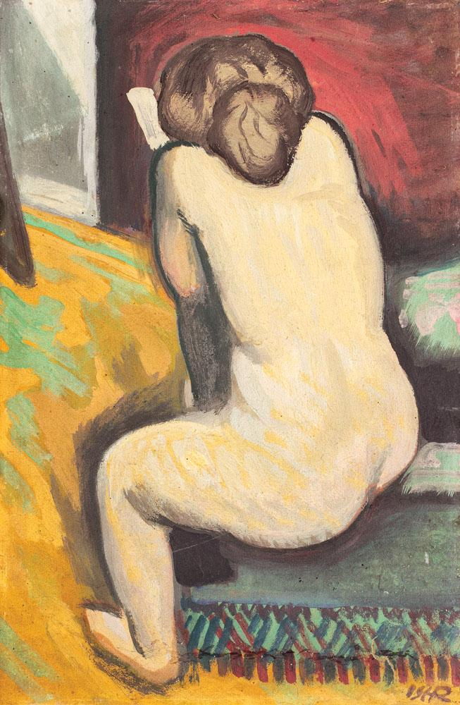 Nude with Book, 1909