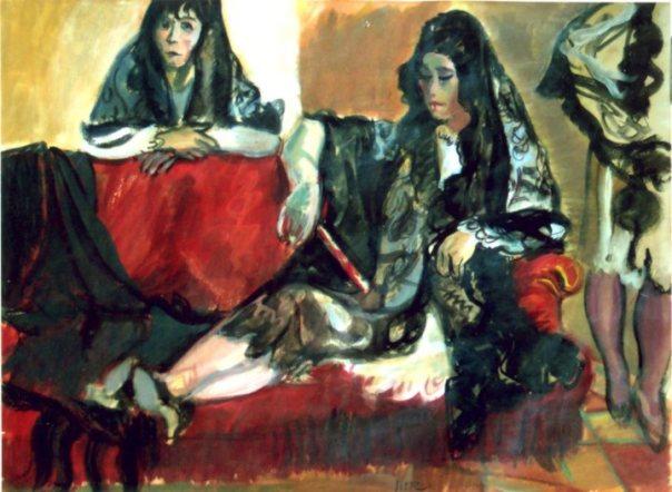 Spanish Women in Interior